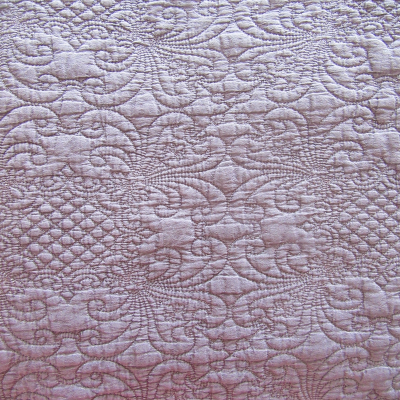stone washed embroidery quilt bedspread