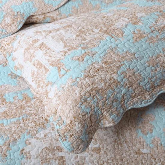 Quilted boudoir pillow home decor