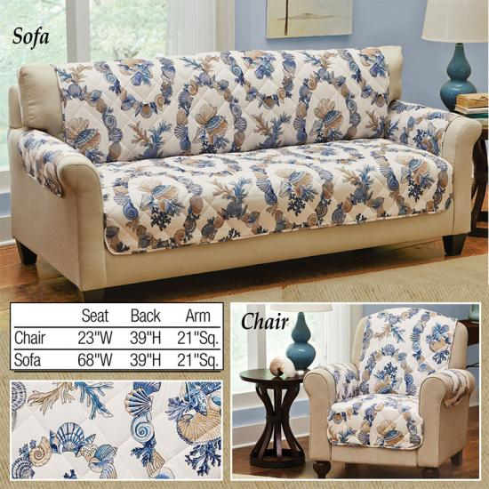 Costal Brushed Microfiber Sofa cover